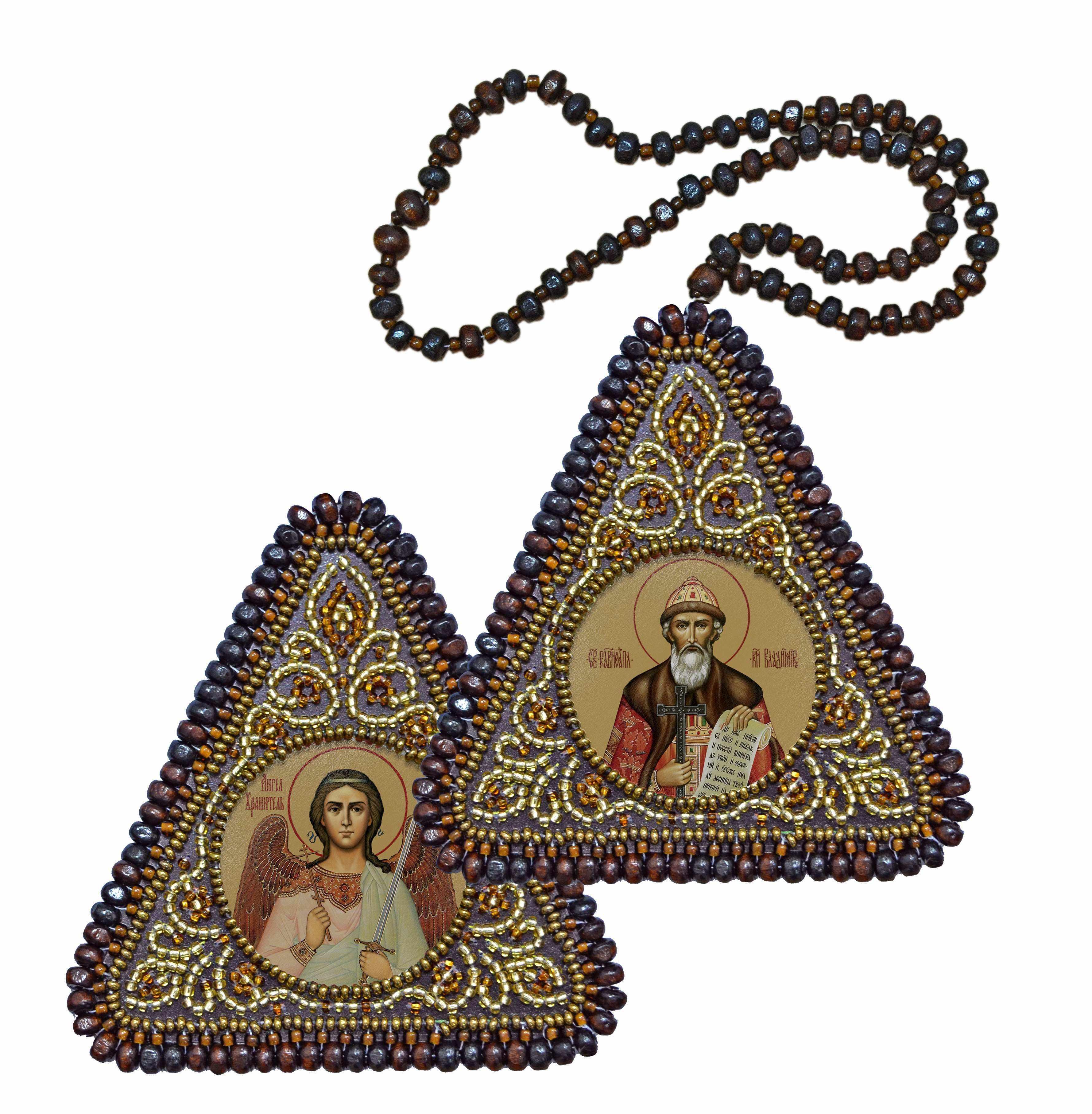 ВХ1115 Св. Равноап. Князь Владимир и Ангел Хранитель