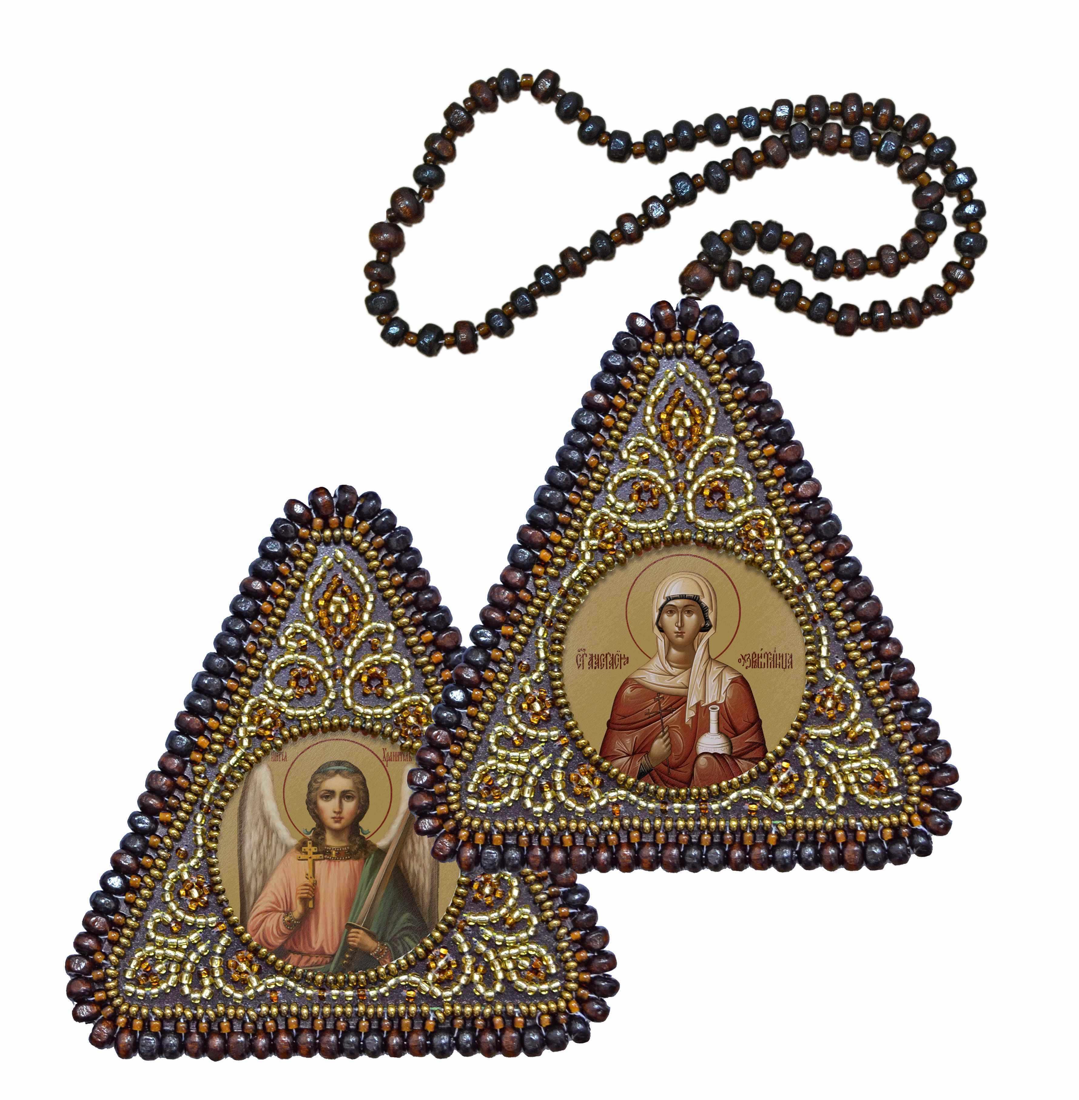 ВХ1203 Св. Вмц. Анастасия Узорешительница и Ангел Хранитель