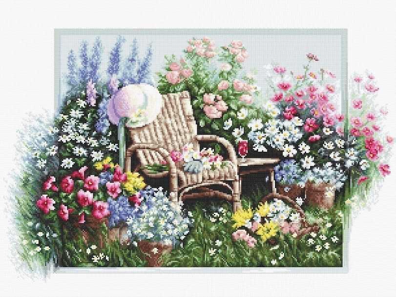 B2344 Цветущий сад (Luca-S)