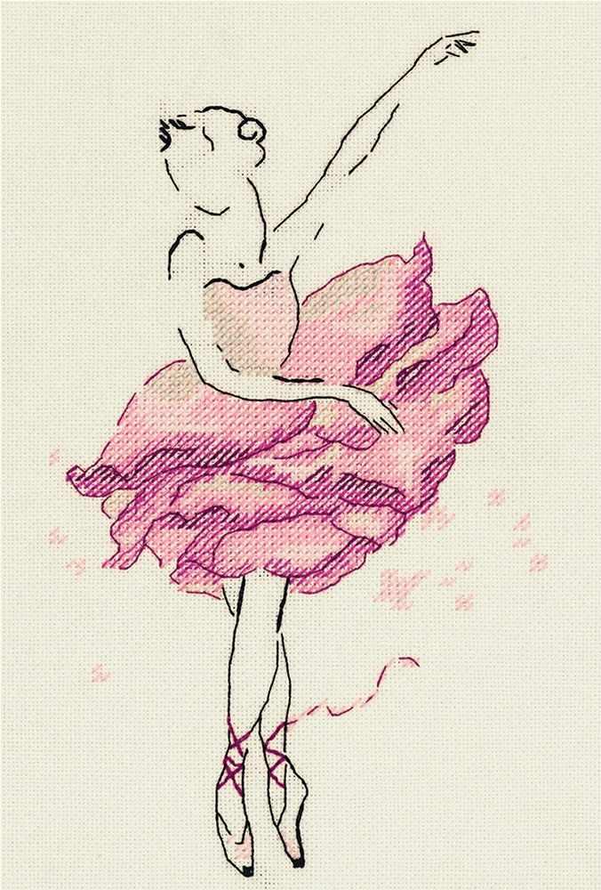 """С-7072 """"Балерина. Роза"""""""