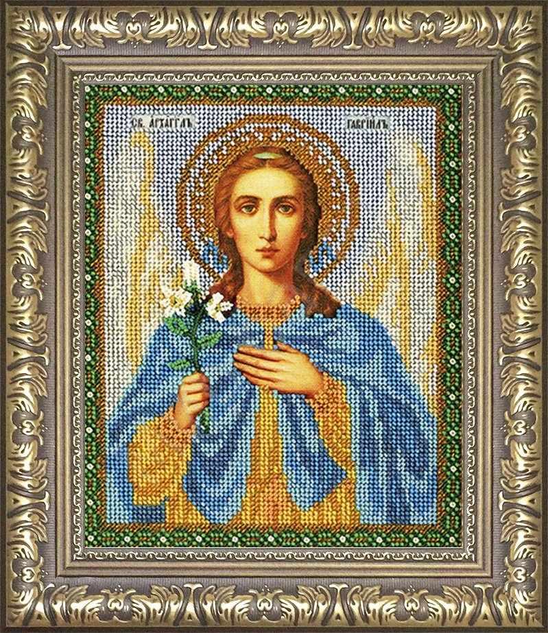№36 Рамка для иконы Архангел Гавриил  18,7х22,9 Арт 829-199