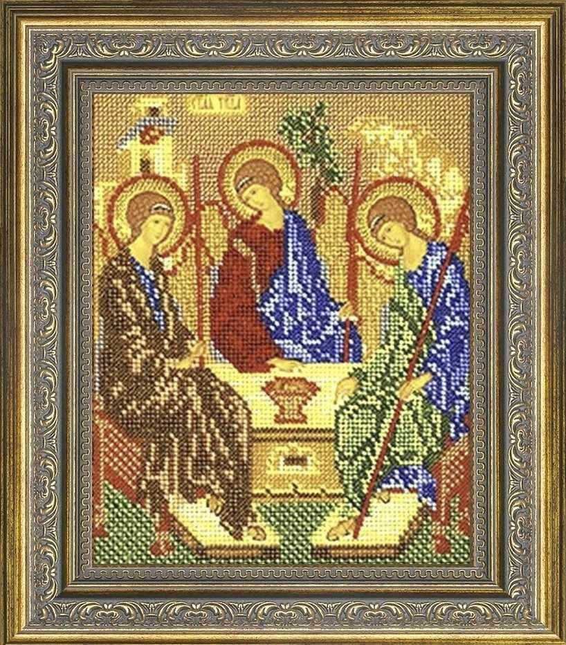 №21 Рамка для иконы Троица, 18,5х23,3 Арт 486-180