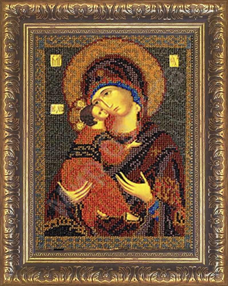 №1 Рамка для иконы Владимирская Богородица  18,5х26 Арт 829-107