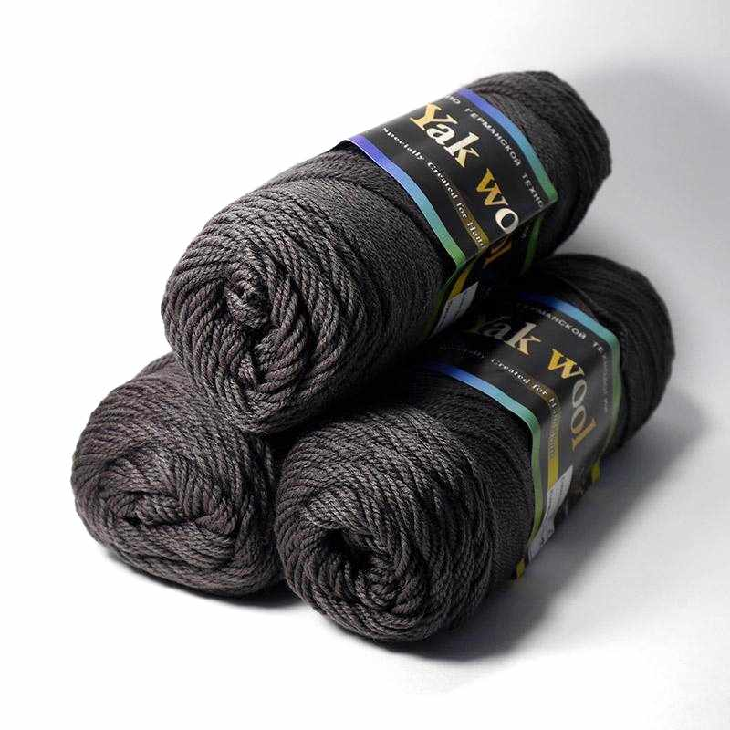 Пряжа Color City Yak Wool Цвет.601 Маренго