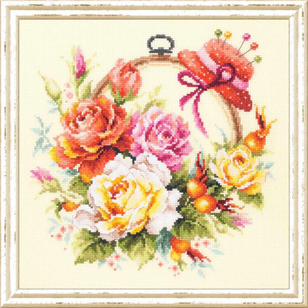 100-122 Розы для мастерицы