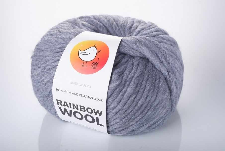 Пряжа RAINBOW BIRD RAINBOW WOOL Цвет.Griffin
