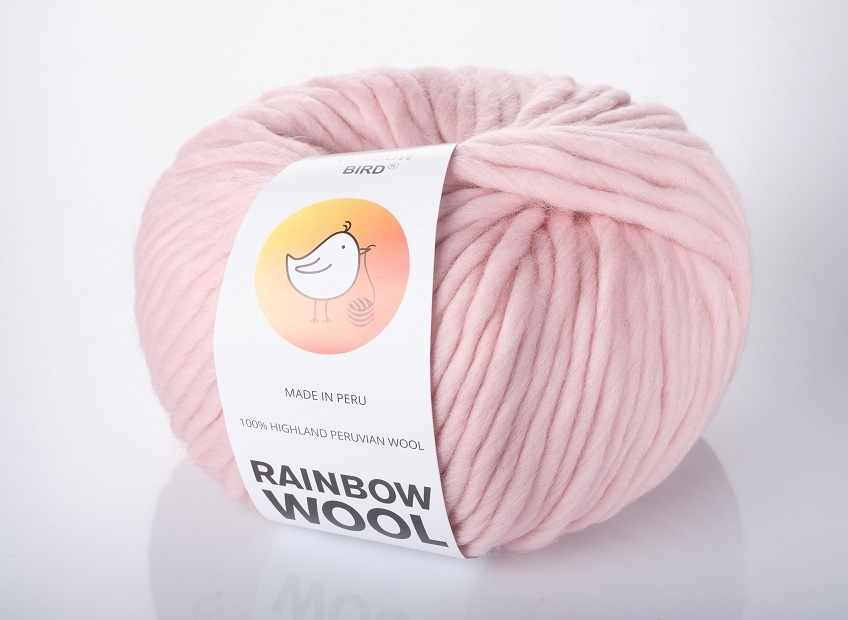 Пряжа RAINBOW BIRD RAINBOW WOOL Цвет.Quartz
