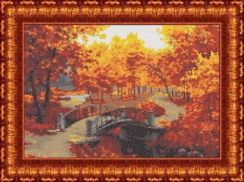 КБП  3051 Осенний парк - схема для вышивания (Каролинка)