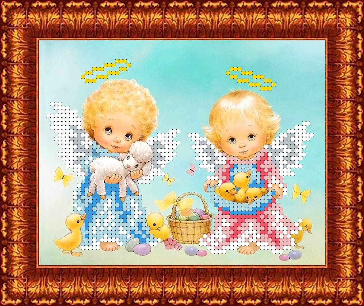 КБА  5020 Светлый праздник - схема для вышивания (Каролинка)