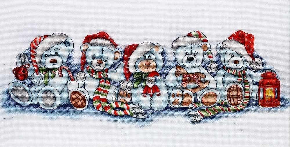 1267 Рождественские мишки (Alisena)