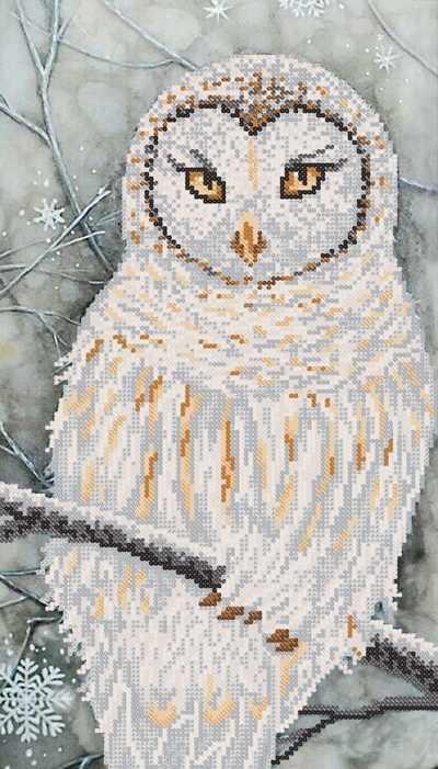 РКП-696 Красавица сова - схема для вышивания (Марiчка)
