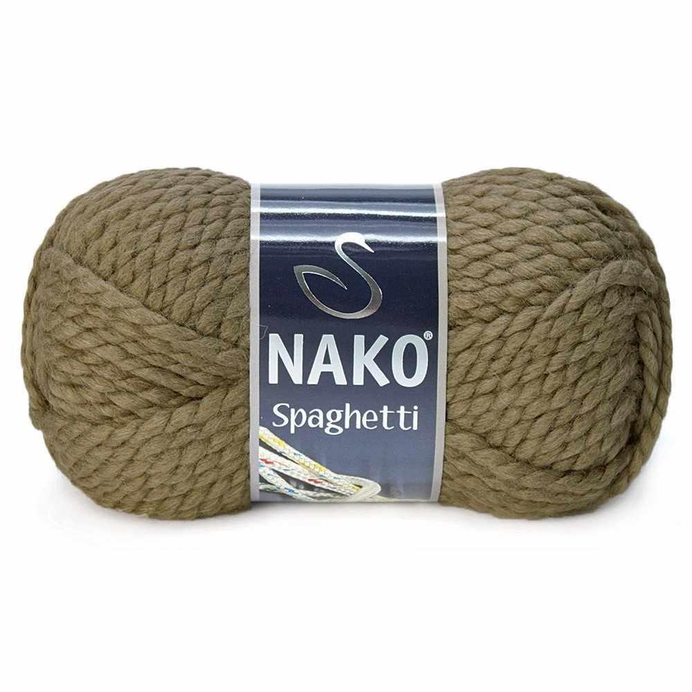 Пряжа Nako Spaghetti Цвет.6577 т.беж.