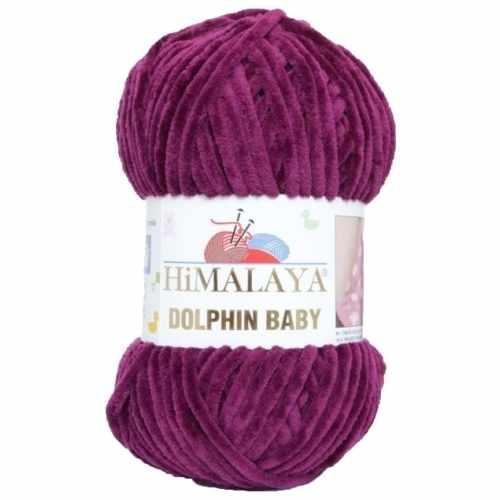Пряжа Himalaya  Dolphin Baby Цвет.80339 Вишня