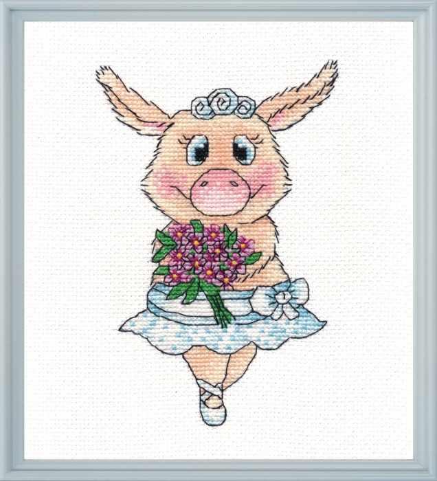 1138 Свинка-балерина (Овен)