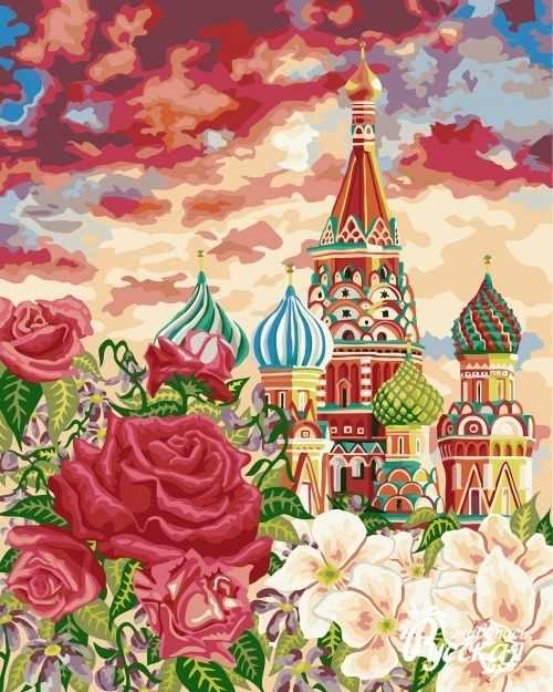 A072 Москва на закате