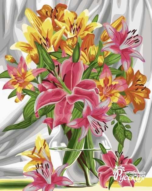 B053 Прекрасные лилии