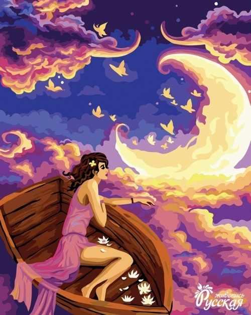 R003 Проплывая по небу