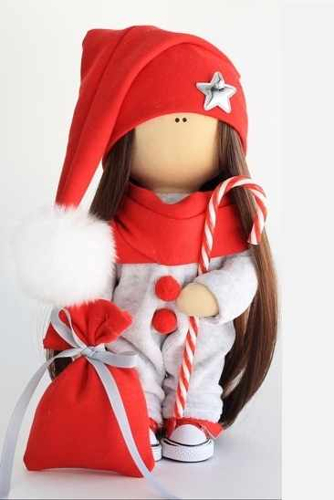 """Набор для создания текстильной куклы гномик """"Элли"""""""
