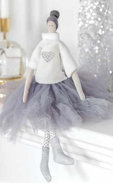 3299334 Интерьерная кукла «Мия», набор для шитья