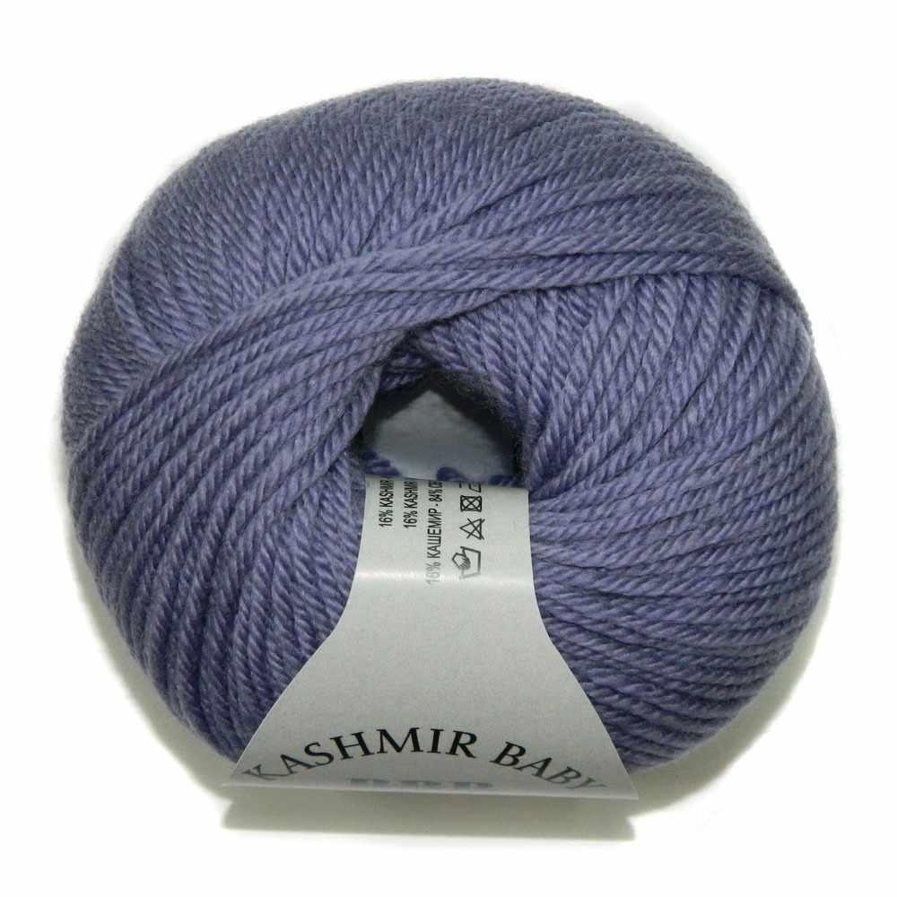 Пряжа BBB Filati Baby Kashmir Цвет.8750 Св. фиолетовый