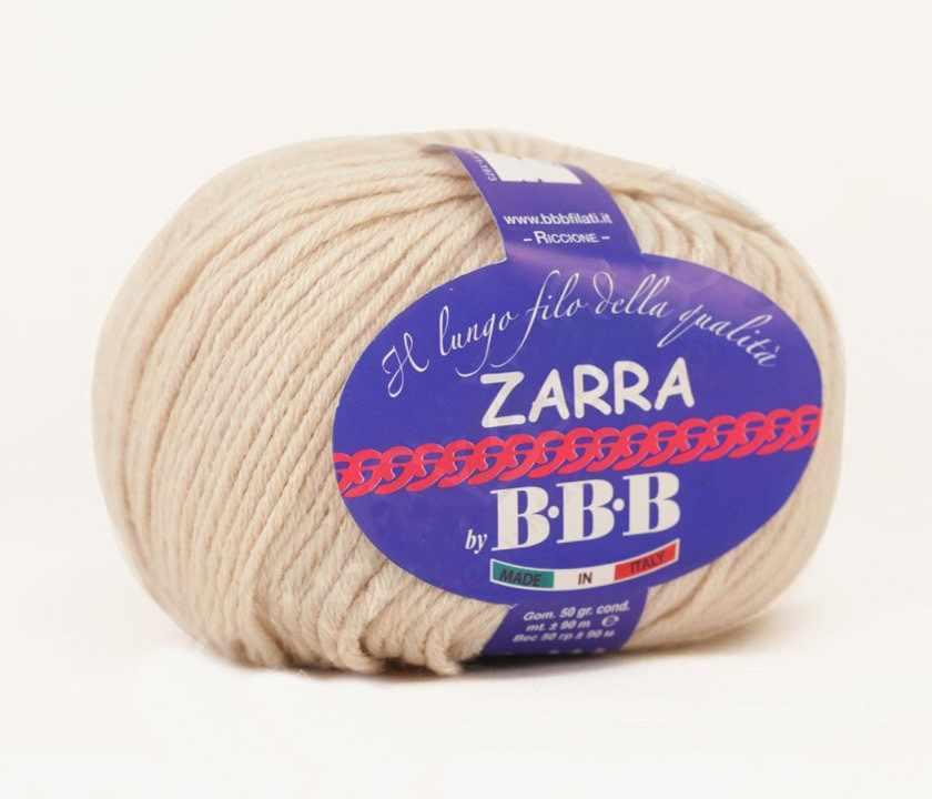 Пряжа BBB Filati ZARRA Цвет.0215 Натуральный