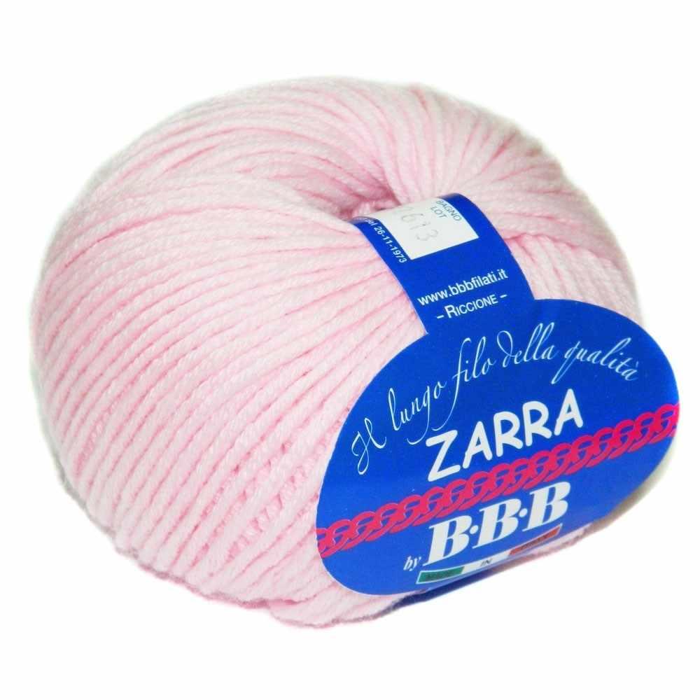 Пряжа BBB Filati ZARRA Цвет.86276 Розовый
