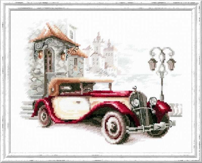 110-022 Ретро-автомобиль. Кадиллак