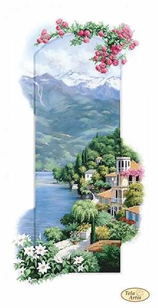 ТА-405 - Итальянские пейзажи. Сардиния - схема для вышивания (Tela Artis)
