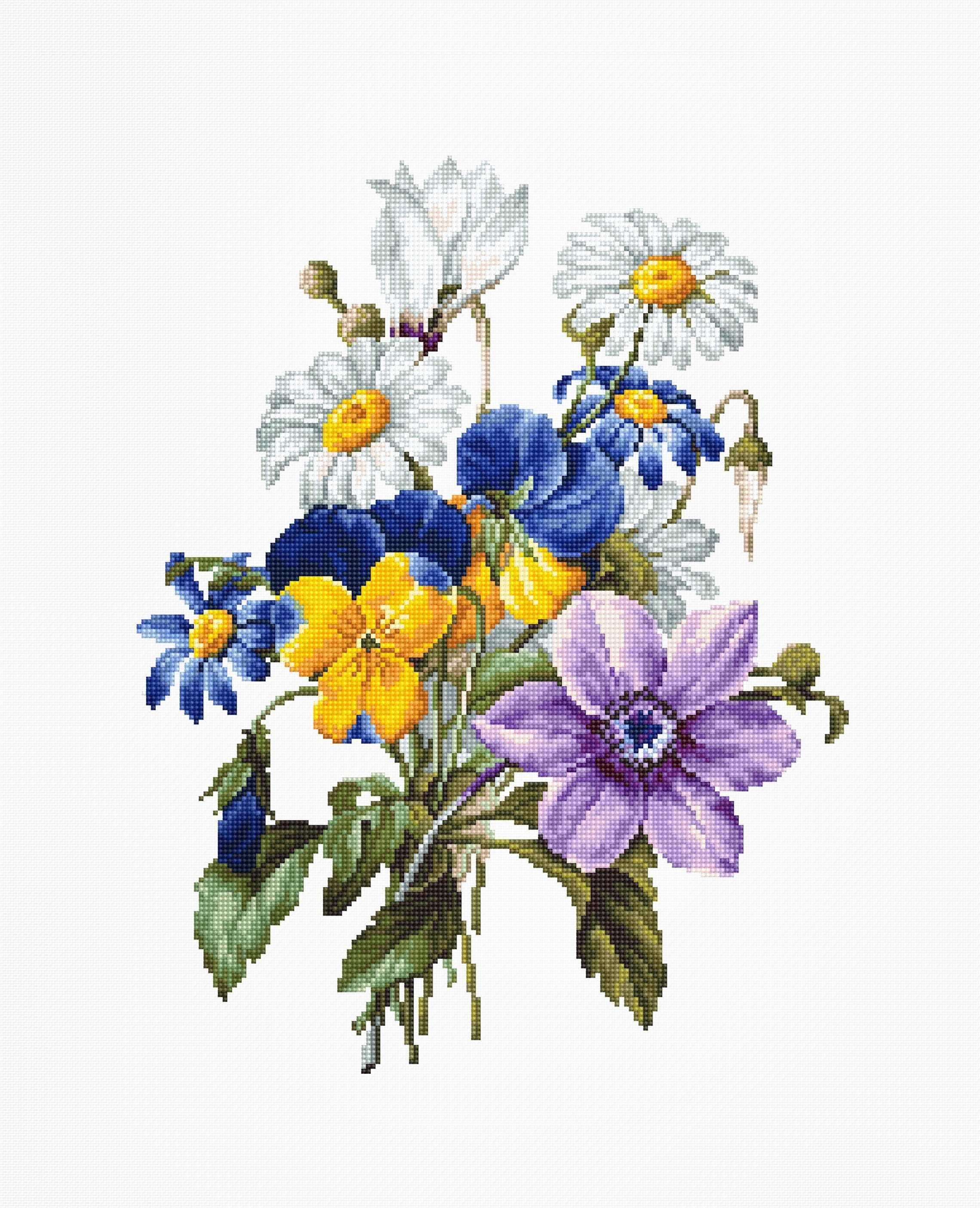 B2348 Букет цветов