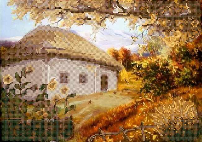 ММДП-008 Осень - схема для вышивания (MOSMARA)