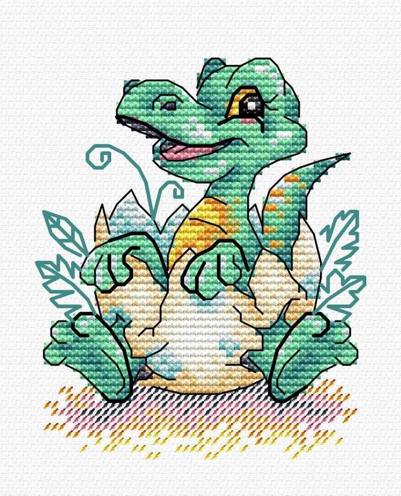 М-376 Малыш динозавр (МП Студия)