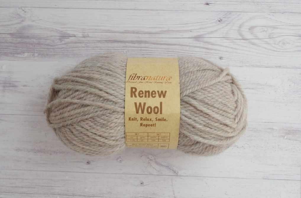 Пряжа  Renew Wool Цвет.110