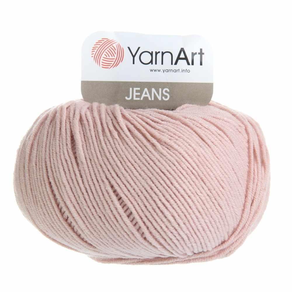 Пряжа YarnArt Jeans Цвет.83 Светлая пыльная роза