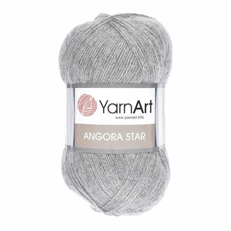 Пряжа YarnArt Angora Star Цвет.3071 Серый