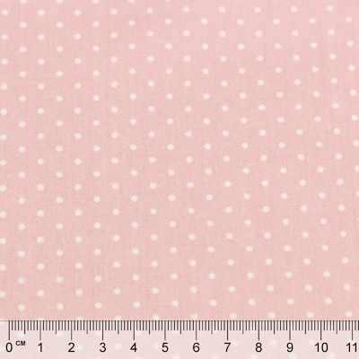 к529 мелкий горошек ярко-розовый фон (50*80 см)