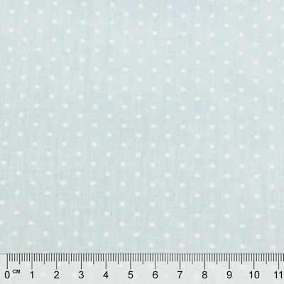 к318 мелкий горошек голубой фон (50*80 см)