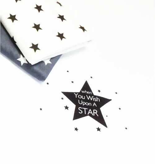 к34 купон на наволочку звезды белый фон (63*160 см)