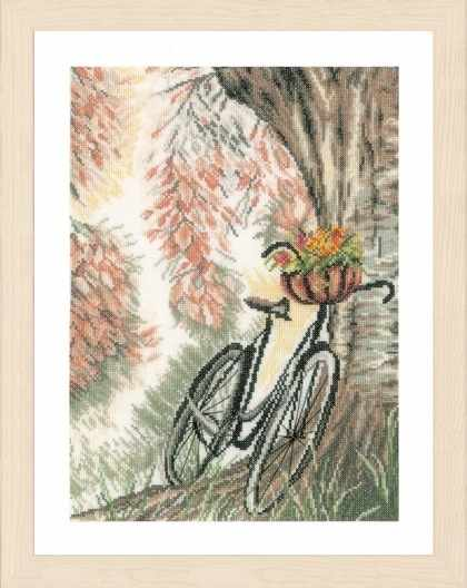 PN-0171414 Bike and flower basket (Lanarte)