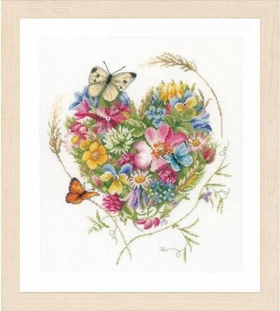 PN-0169960 A heart of flowers (Lanarte)
