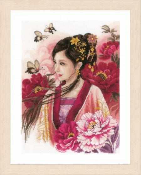 PN-0170199 Asian lady in pink (Lanarte)