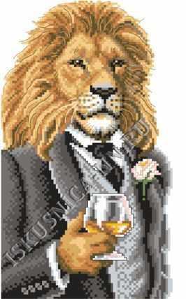 м8171 Лев с виски