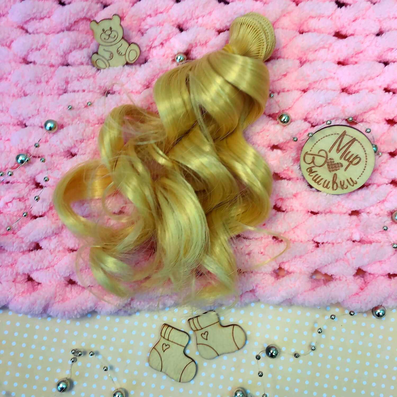 Волосы локон, 15 см цвет №9