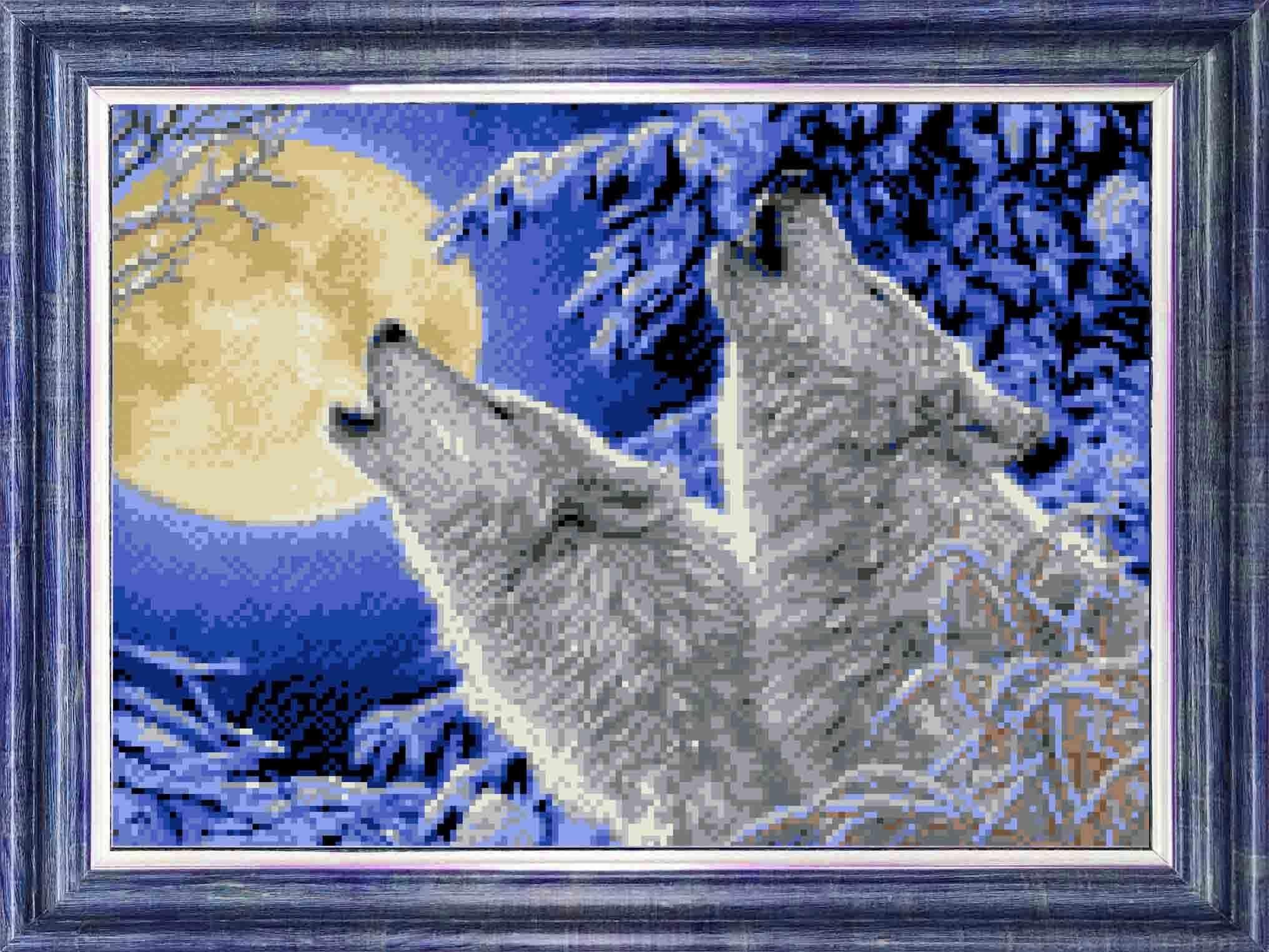 КБЖ 3033 Лунная соната - схема для вышивания (Каролинка)