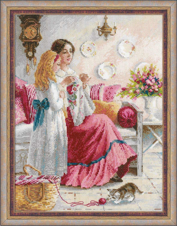 """1789 """"Первые уроки вышивки"""""""