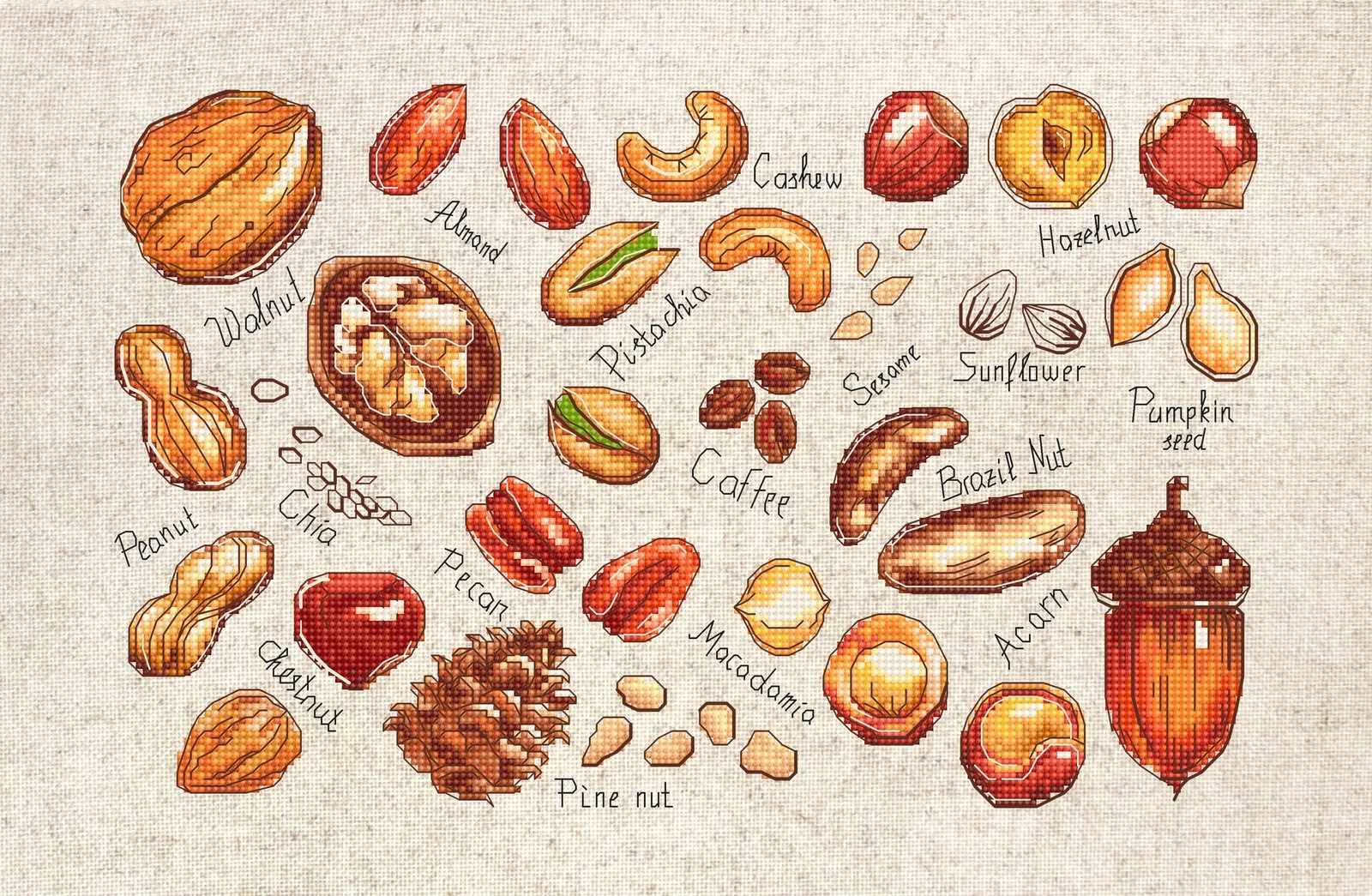 B1165 Орехи и семена (Luca-S)