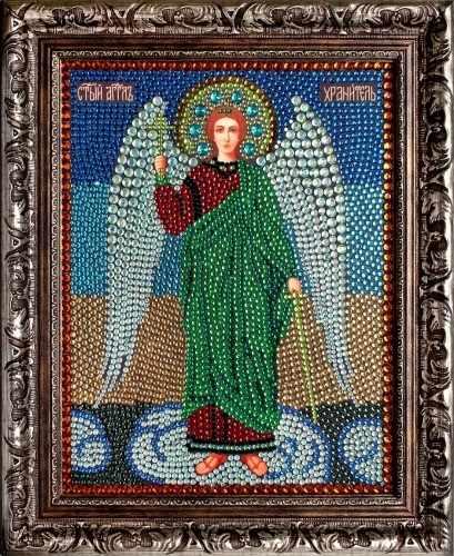Алмазная вышивка 0057/1 Ангел Хранитель - картина стразами (Преобрана)