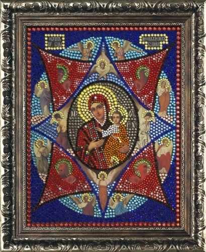 Алмазная вышивка 0062/1 Неопалимая Купина - картина стразами (Преобрана)
