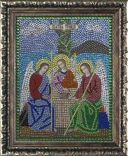 Алмазная вышивка 0063/1 Святая Троица - картина стразами (Преобрана)