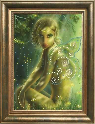 Алмазная вышивка 0102/1 Лесной Эльф - картина стразами (Преобрана)