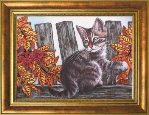 Алмазная вышивка 0111/1 Осенние ягоды - картина стразами (Преобрана)